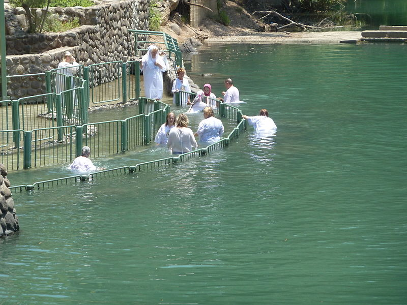 File:Baptism in Jordan River P1020553.JPG