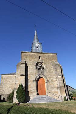 Bar-Les-Buzancy (08 Ardennes) l'Eglise St-Maurice - Photo Francis Neuvens lesardennesvuesdusol.fotoloft.JPG