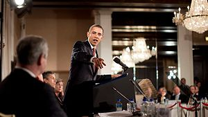 President Barack Obama at the Business Roundta...