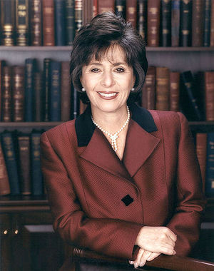 United States Senate election in California, 1998 - Image: Barbara Boxer