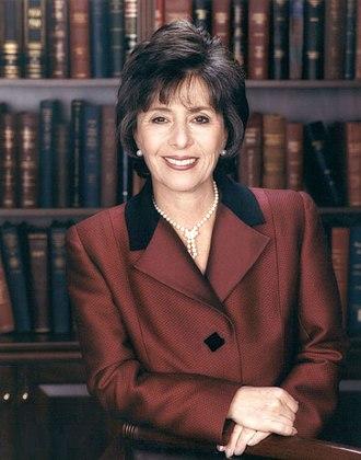 United States Senate election in California, 1998 - Image: Barbara Boxer