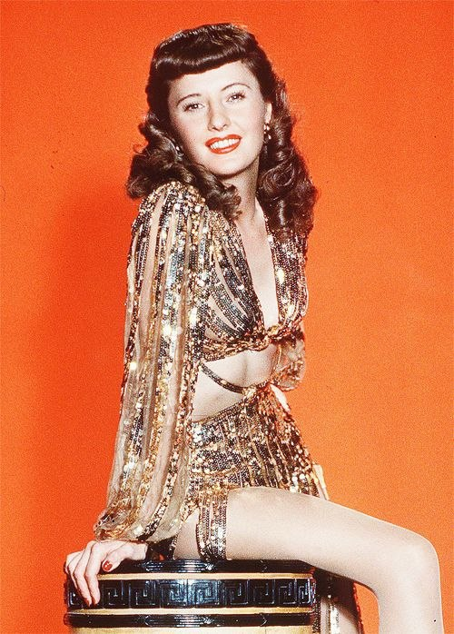 Barbara Stanwyck in Ball of Fire