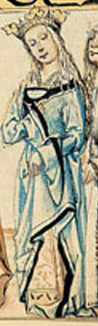Barbara of Cilli - Image: Barbora Cellja