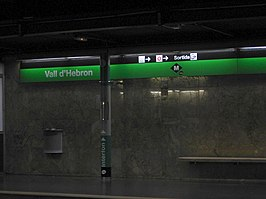 Station Vall d'Hebron