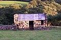 Barn at the Owen's farm, Tyddyn-Evan-Fychan, below Craig y Castell - geograph.org.uk - 64388.jpg