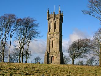 Wallace's Monument, Ayrshire - Image: Barnweill, Wallace Monument, South Ayrshire