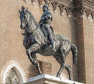 Condottiero Mercenary soldier leader in medieval Italy