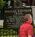 Bartram Trail sign, St. Augustine, FL, US.jpg