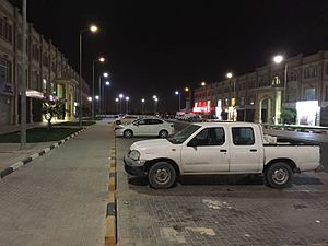 Barwa Al Baraha - Barwa Al Baraha at night.