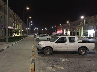 Barwa Al Baraha - Barwa Al Baraha at night.