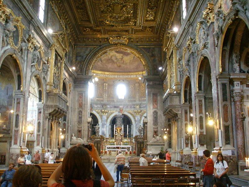 File Basilica Della Santissima Annunziata Interno Jpg