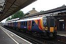 Basingstoke - SWT 450031 London slow train.JPG