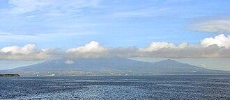 Mariveles, Bataan - Mariveles seen from Manila Bay