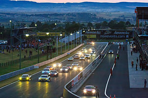 Bathurst 12 Hour - The start of the 2011 race.