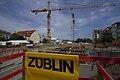 Baugrube für Neubau Wohnpark Cottaer Straße (Mai 2015).jpg