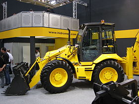Bauma 2007 Backhoe Loader Hidromek 1.jpg