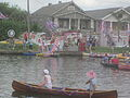 Bayou St John 4th of July 2013 Kolossos Corination Canoe.JPG