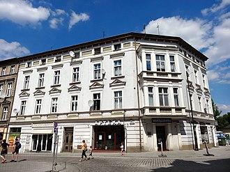Józef Święcicki - Image: Bdg ul Podwale 1 07 2013