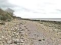 Beach below Carsluith Wood looking south east - geograph.org.uk - 1920318.jpg