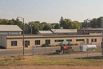 Becker County, Minnesota - Image: Becker County MN County Public Works Center at Detroit Lakes