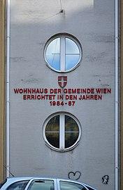 Beckmanngasse 66, Vienna - inscription.jpg
