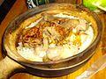 Beef and pork ribs claypot rice.JPG