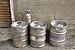 Beer kegs outside Coasters, Oban, July 2020 02.jpg