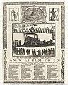 Begrafenis van Johan Willem Friso te Leeuwarden, 1712 Een Nieuw Lied, op de Begravenis, van Syn Hoogheyd Jan Wilhelm Friso Begraven tot Leeuwaarden, den 25 February, 1712 (titel op object), RP-P-OB-83.351.jpg