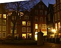 Beguinage of Amsterdam by night - entrance.JPG