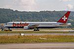 Belair Boeing 767-3Q8-ER HB-ISE (21396165933).jpg