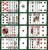 Kartenspiel Patience