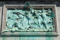 Belgique - Statue de Godefroid de Bouillon - Assaut de Jérusalem.JPG