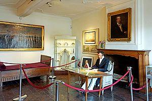 Wellington Museum, Waterloo - Image: Belgium 6677 Wellington's Bedroom (13967968430)