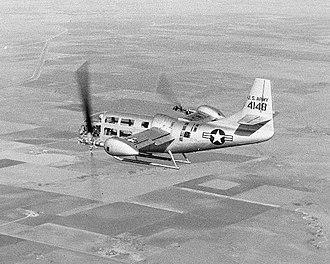 Bell XV-3 - The second Bell XV-3 during flight testing (c.1959)