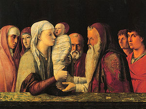 Presentation at the Temple (Bellini) - Image: Bellini maria 1