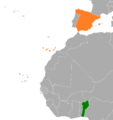 Benin Spain Locator.png