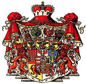 Bentheim-Steinfurt - Princely arms of Bentheim-Steinfurt