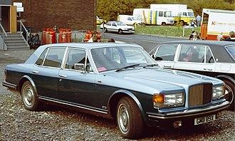 Bentley Mulsanne (1980–92) - Bentley Mulsanne Turbo (1984)