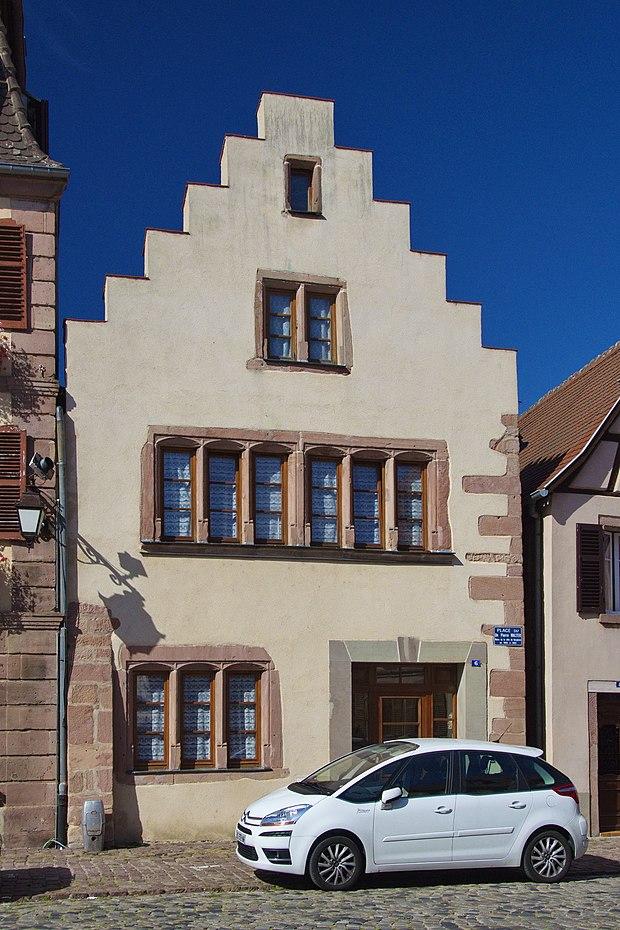 Monument historique à Bergheim