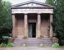 Das Mausoleum im Schlosspark Charlottenburg (Quelle: Wikimedia)