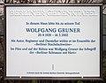Berliner Gedenktafel Westendallee 57 (Weste) Wolfgang Gruner.jpg