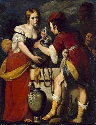 Bernardo Strozzi - Rebecca and Eliezer at the Well