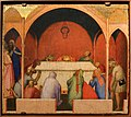 Bernardo daddi, storie di santo stefano, 1337-38 (musei vaticani) 07 miracolati alla tomba di s. stefano 1.jpg