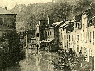 Charles Bernhoeft - Charles Bernhoeft: Pfaffenthal, Luxembourg (c. 1904)