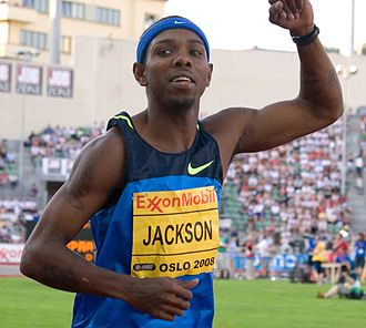 2010 IAAF World Indoor Championships – Men's 4 × 400 metres relay - Bershawn Jackson anchored the United States to the gold medal.