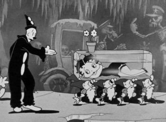 Snow-White (1933 film) - Image: Betty Boop in Snow White