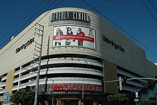 Beverly Center shopping mall in Los Angeles, California, United States