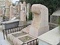 Bezalel Yafe tomb.JPG