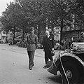 Bezoek van veldmaarschalk Montgomery aan Amsterdam. Prins Bernhard en minister-p, Bestanddeelnr 900-6876.jpg