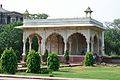Bhadon Pavilion - South-east View - Hayat-Bakhsh-Bag - Red Fort - Delhi 2014-05-13 3359.JPG